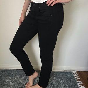 Rag & Bone Black Jeans Size 26 The Dre